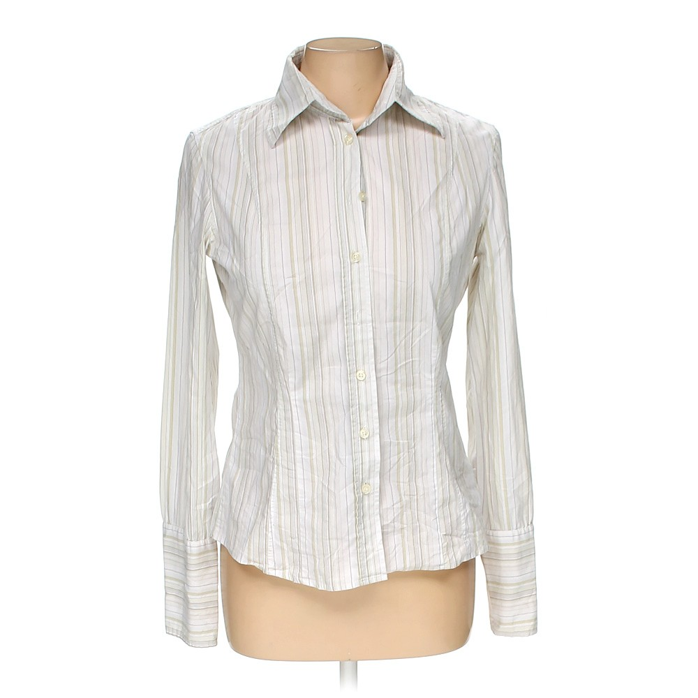 United Colors Of Benetton Button Up Shirt In Size M At Up