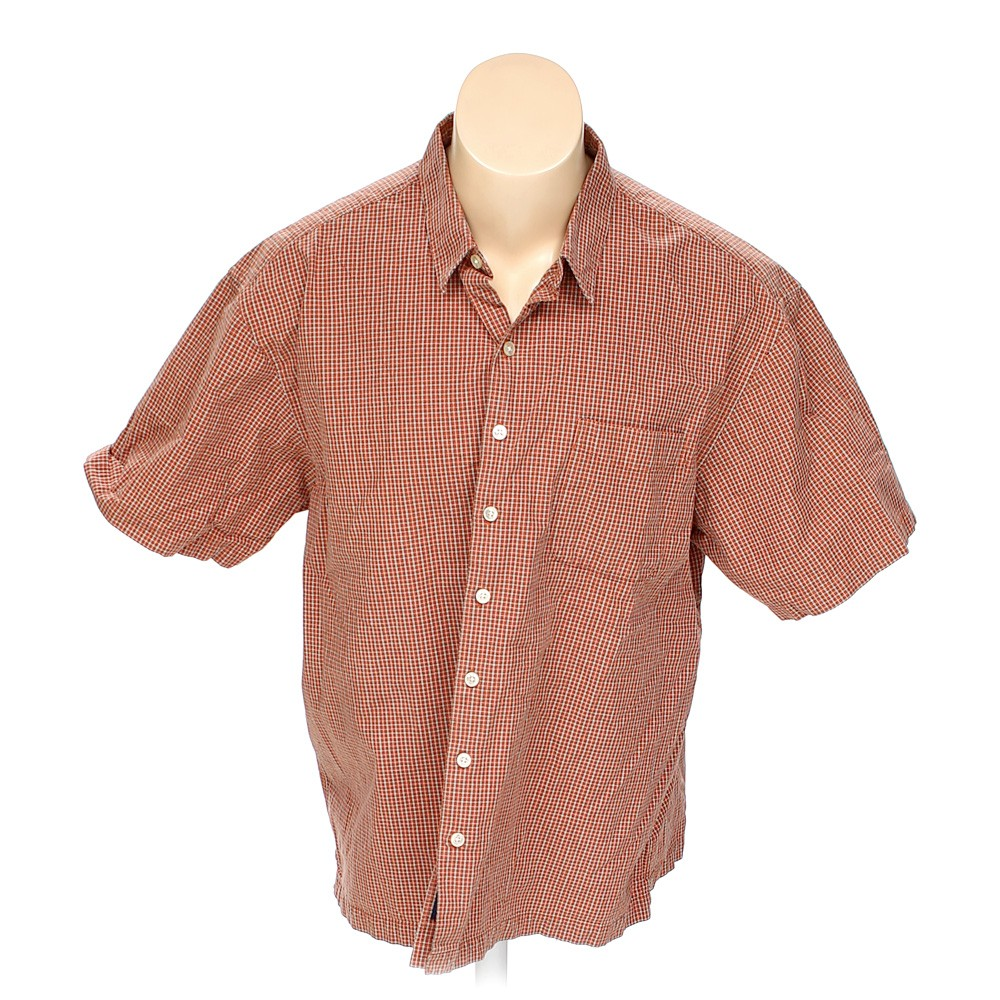 Old navy button up short sleeve shirt in size 2xl at up to for Big and tall button up shirts