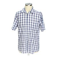 Stafford button up short sleeve shirt online consignment for Stafford t shirts big and tall
