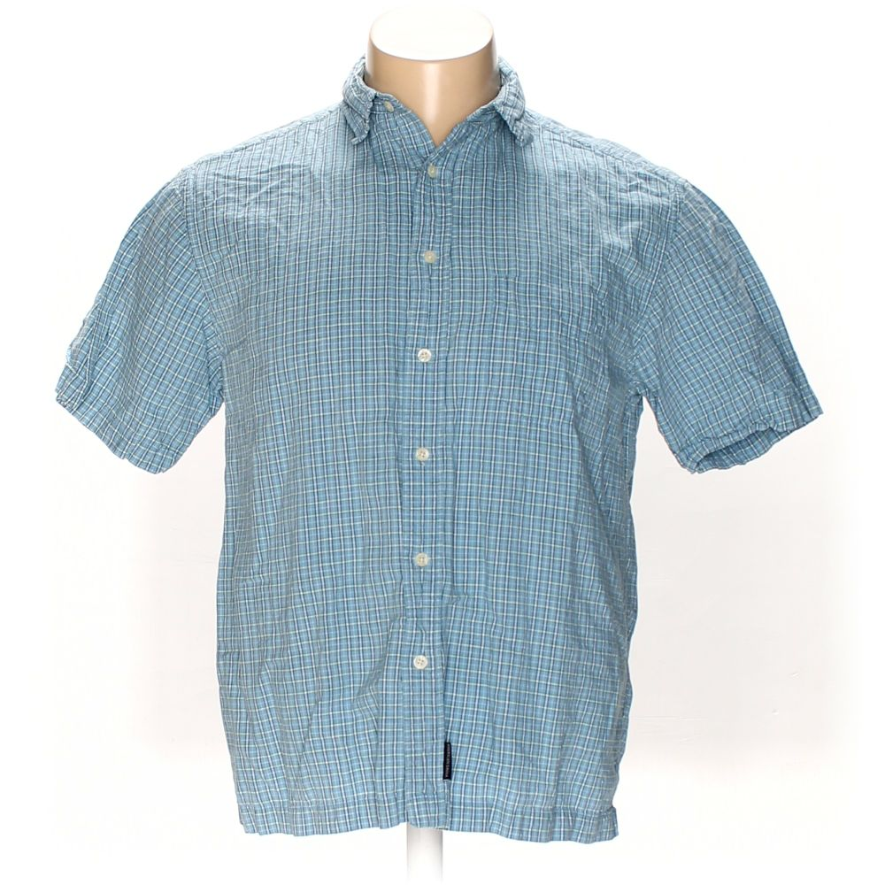 b315785fd59 American Eagle Outfitters Men s Button-up Short Sleeve Shirt