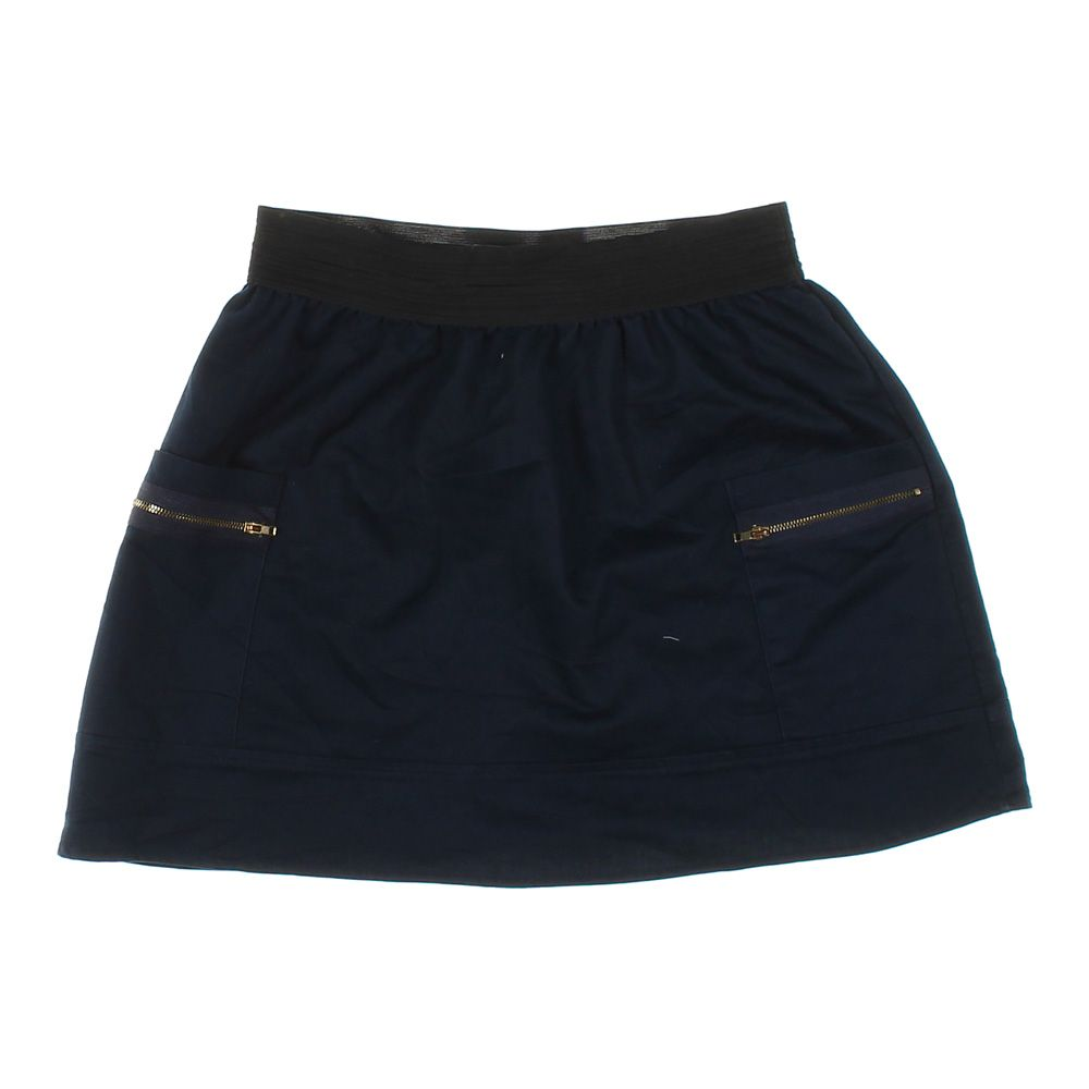 Clothing, Shoes & Accessories Atmosphere Cotton Elastane Stretch Black Mini Skirt Size 8 Without Return