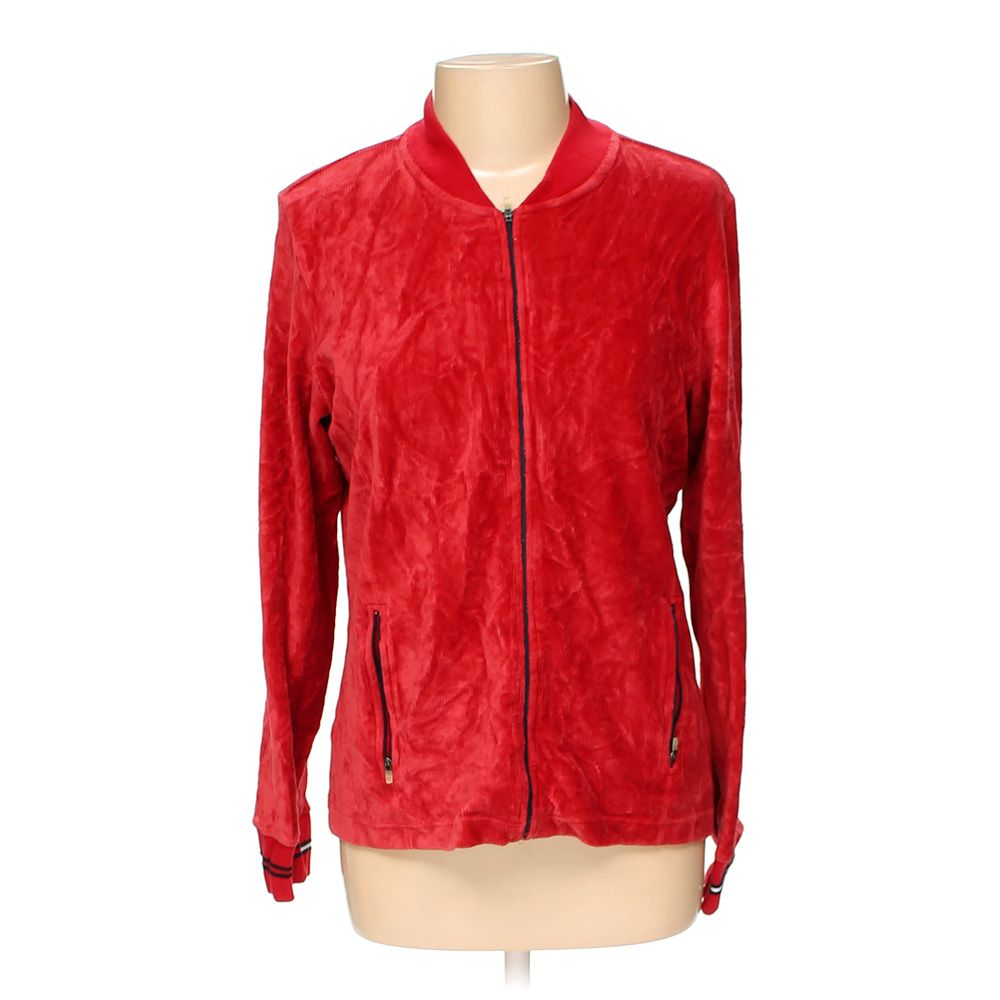 6c4570adfb2 Tommy Hilfiger Women's Jacket, size L, red, cotton, polyester ...