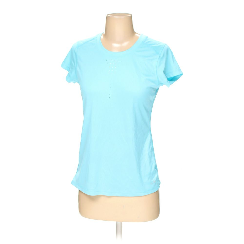 a1dc8a2e C9 by Champion Women's Shirt, size XS, turquoise, basic, polyester ...