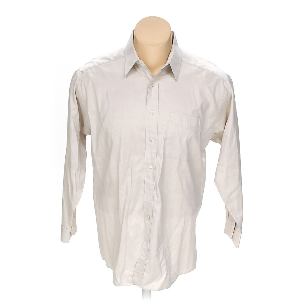 4f18f0df Tommy Hilfiger Men's Button-up Long Sleeve Shirt, size 50