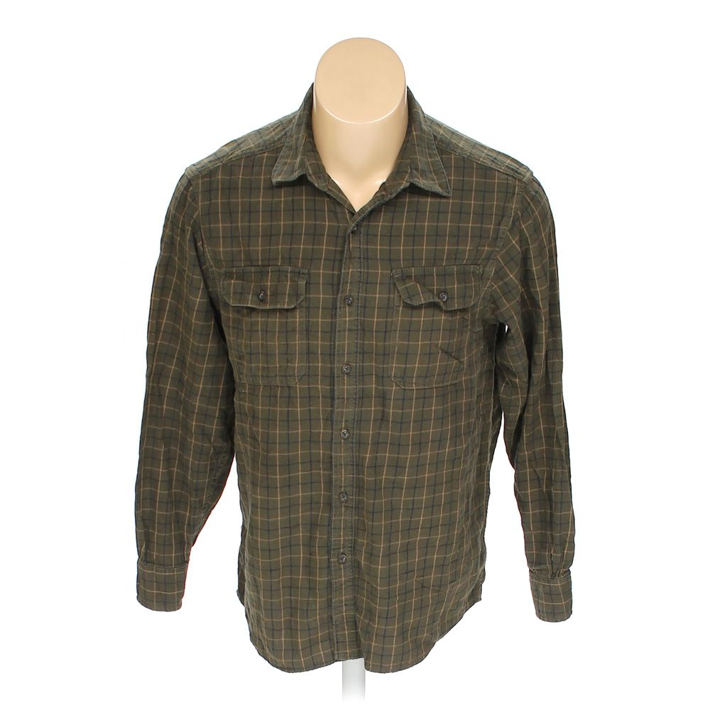420758eeaf7e Image is loading Faded-Glory-Men-039-s-Button-up-Long-