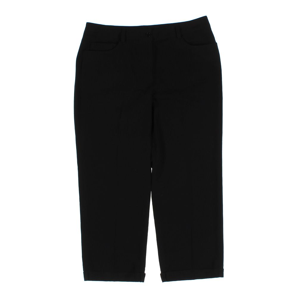 4f86bc28e25a2 Image is loading NEW-DIRECTIONS-Women-039-s-Capri-Pants-size-
