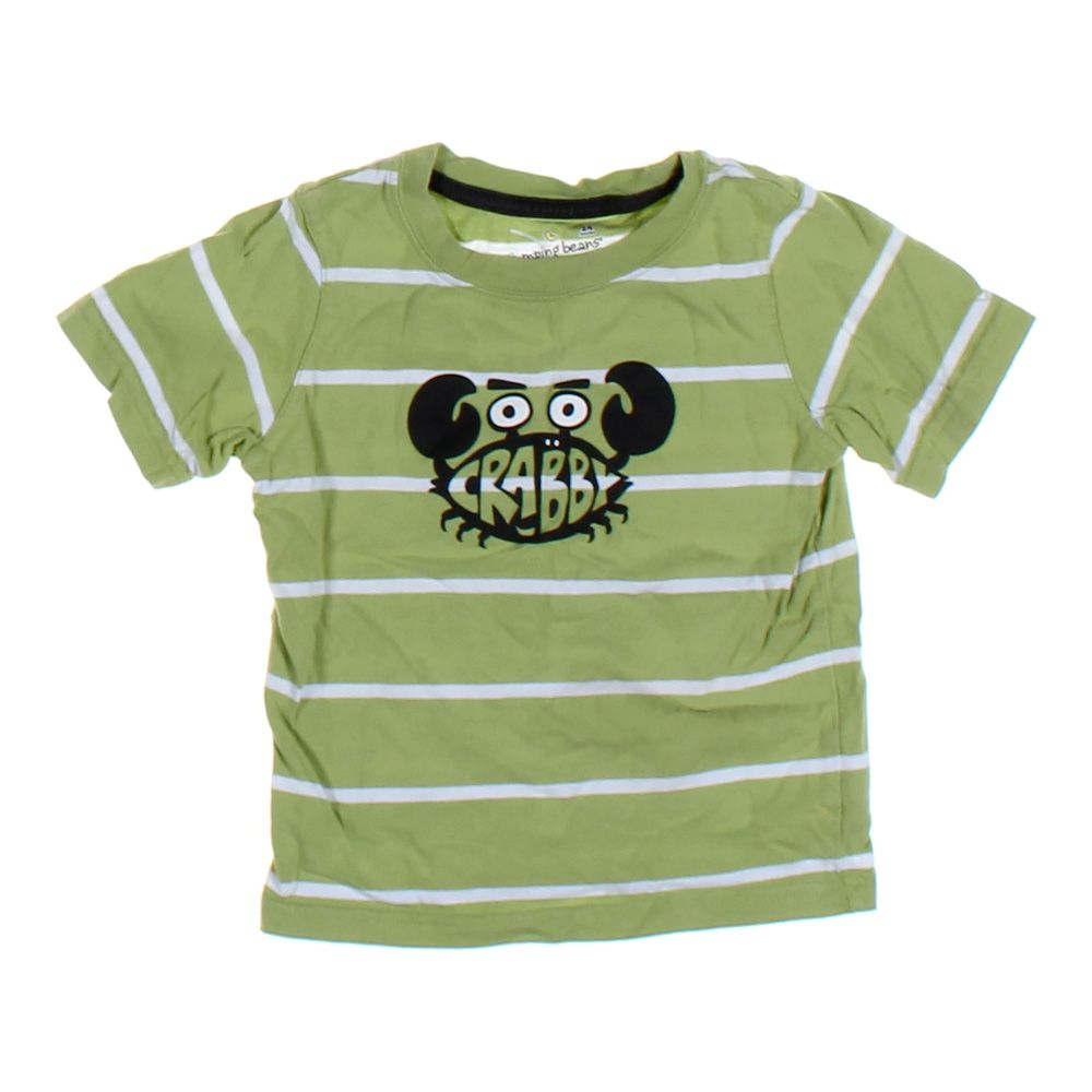861e4030b Jumping Beans Baby Boys T-shirt, size 24 mo, green, cotton | eBay