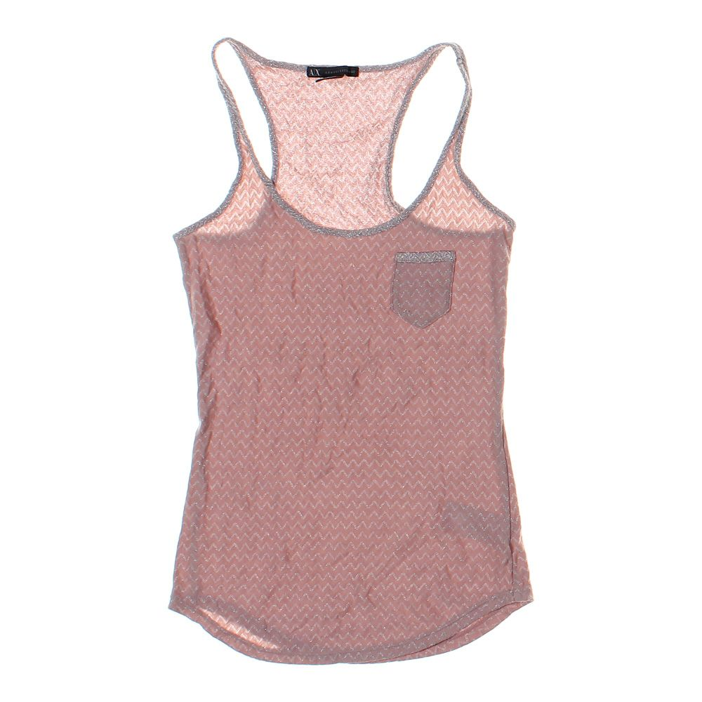 a54d2d0e Details about Armani Exchange Women's Tank Top, size XS, pink, other