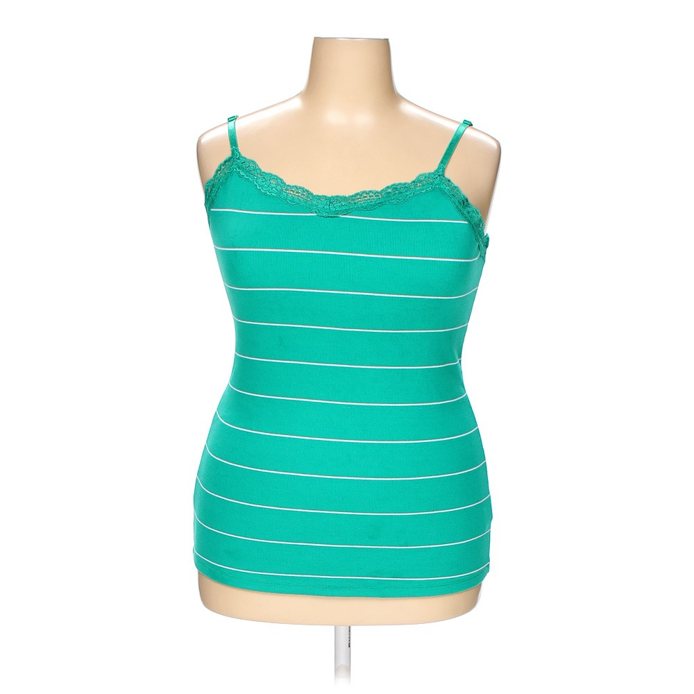 Turquoise Faded Glory Camisole In Size Xxl At Up To 95
