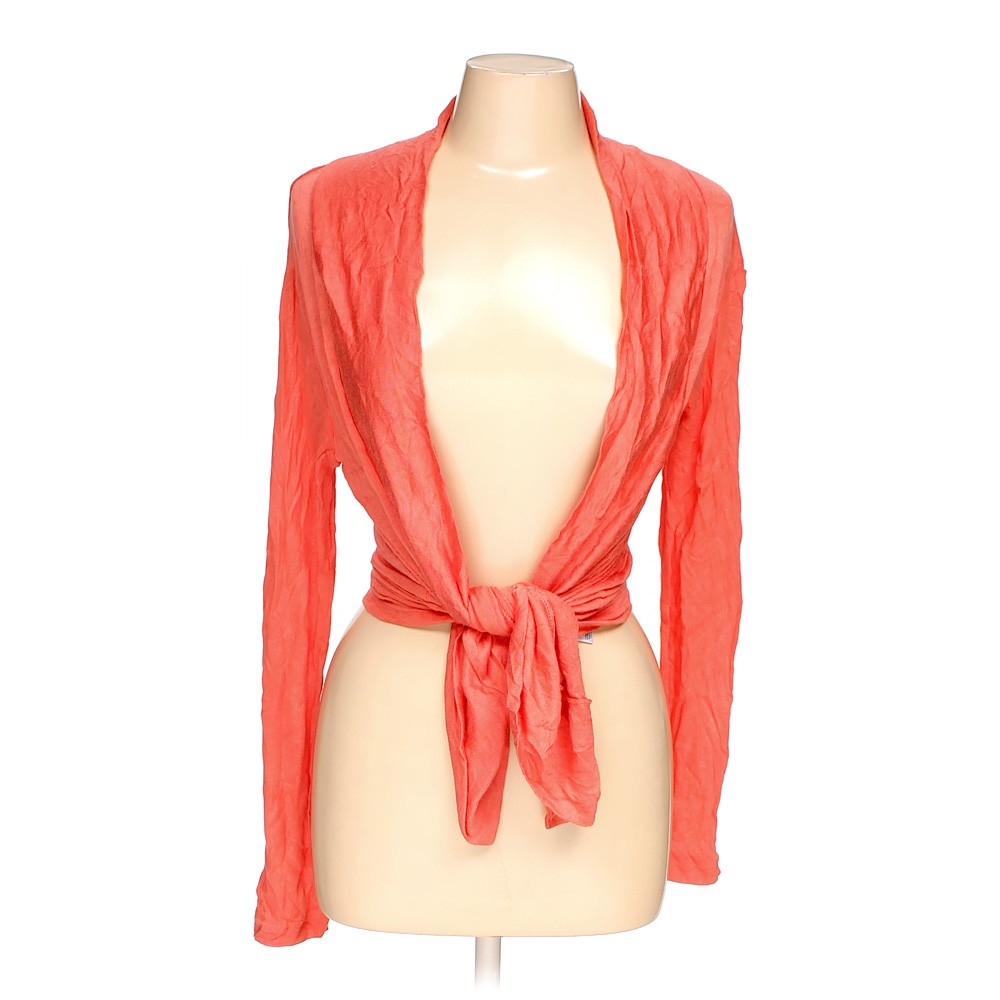 Orange Zenana Outfitters Cardigan in size M at up to 95% Off - Swap.com