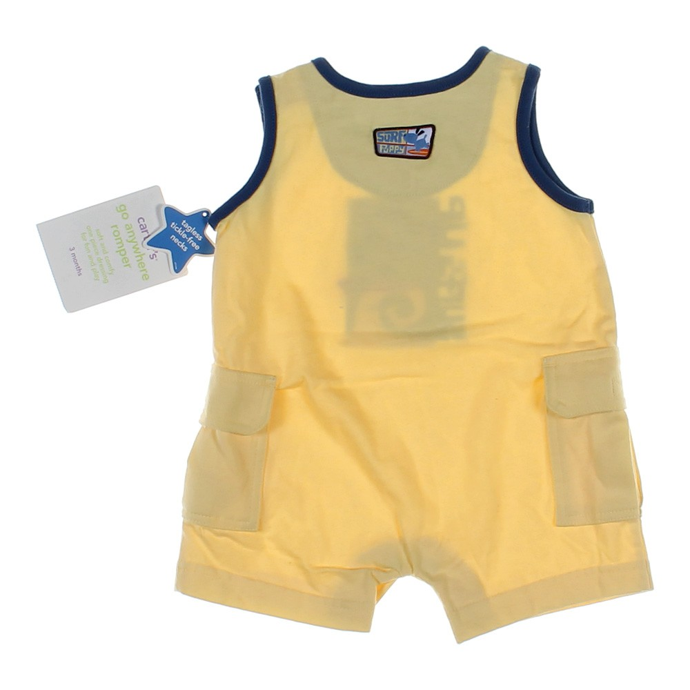 Carters Yellow Romper | 2018, 2019, 2020 Ford Cars
