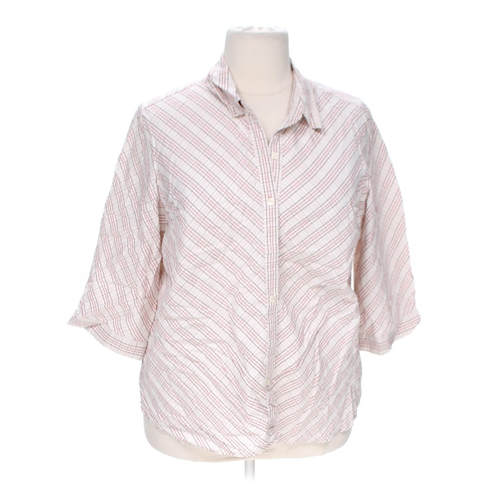 Covington Casual Button Up Shirt In Size 24 At Up To 95