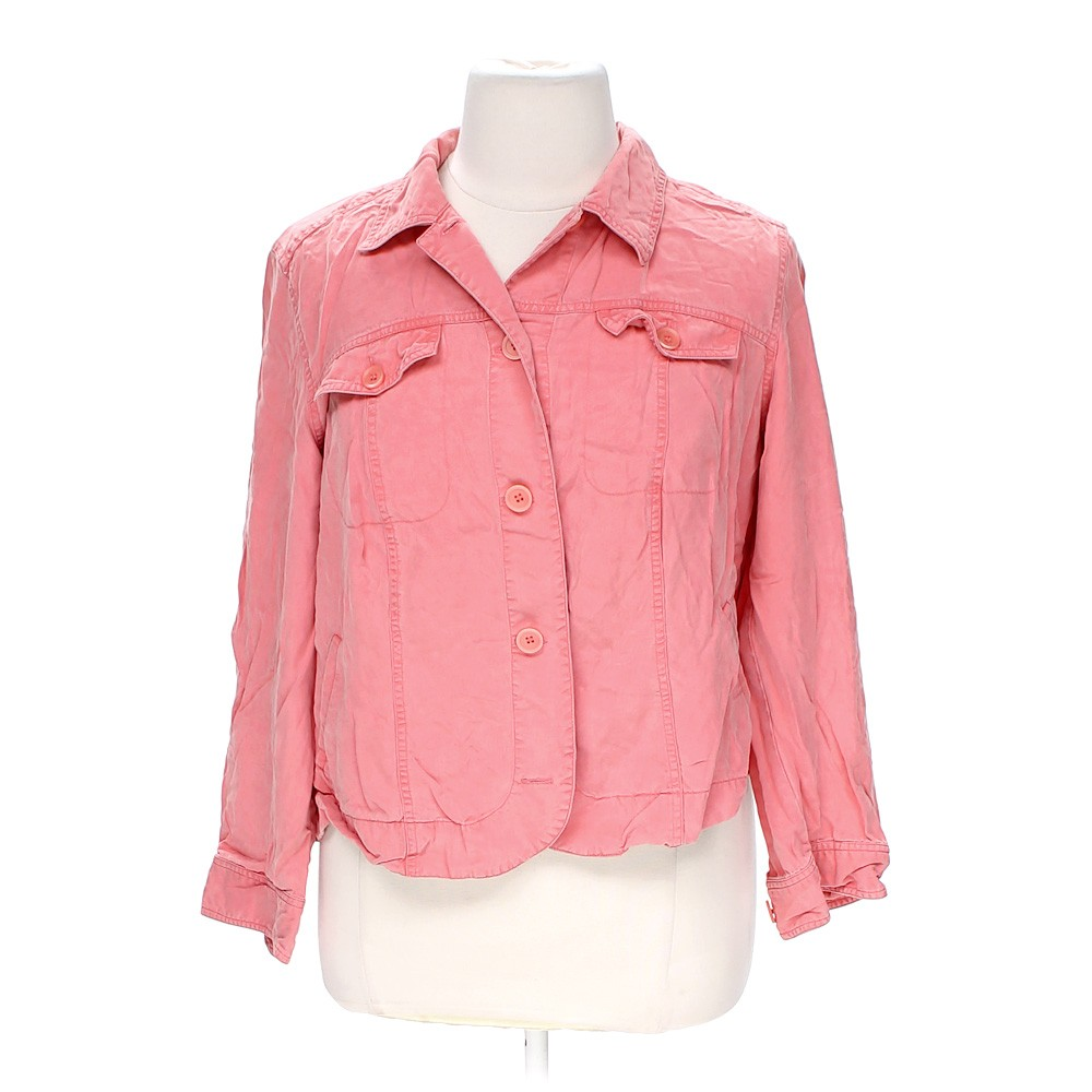 Jm Collections Woman Casual Button Up Shirt In Size 18 At