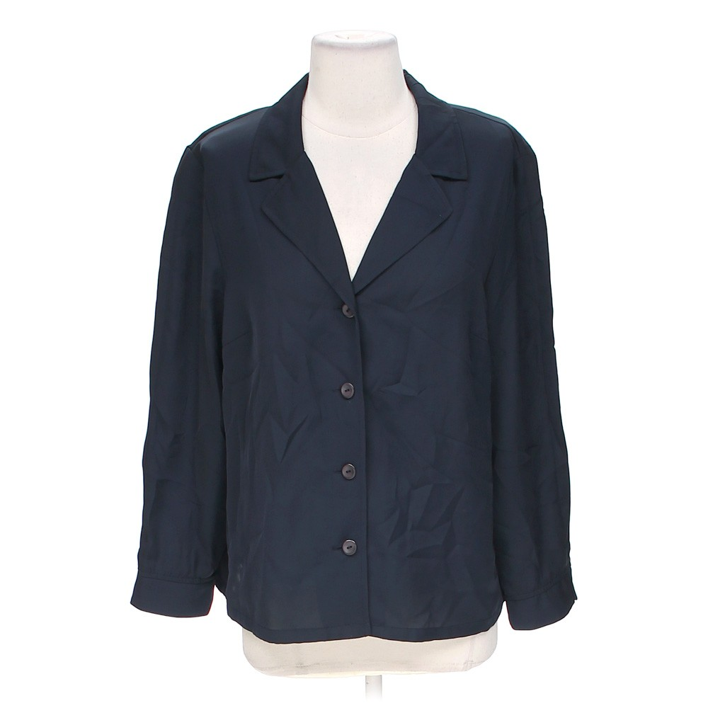 Laura Scott Casual Button Up Shirt In Size L At Up To 95