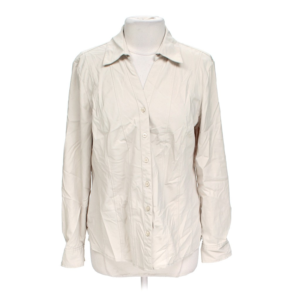 Style Co Casual Button Up Shirt In Size L At Up To 95