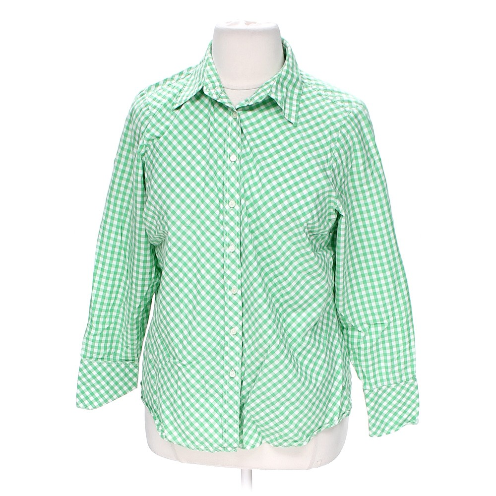 Tommy Hilfiger Casual Button Up Shirt In Size 14 At Up To