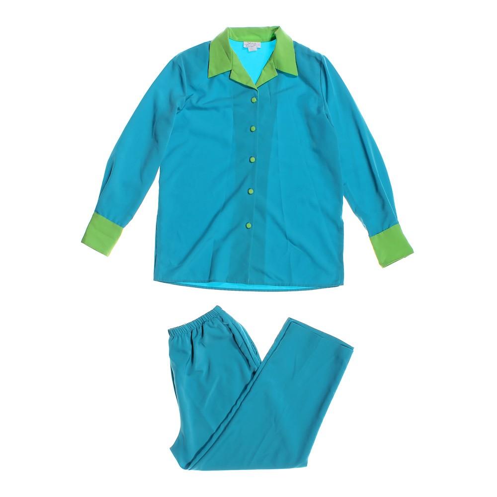turquoise casual suit in size l at up to 95