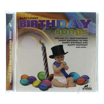 CD: Baby First Birthday Songs for Sale on Swap.com