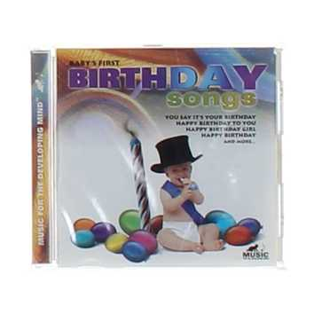 CD: Baby's First Birthday Songs for Sale on Swap.com