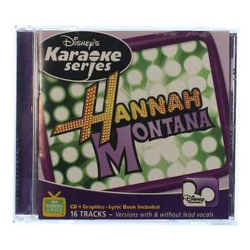 CD: Karaoke Series Hannah Montana for Sale on Swap.com