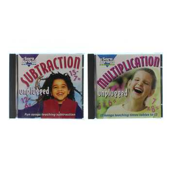 CD: Multiplication Unplugged & Subtraction Unplugged Set for Sale on Swap.com