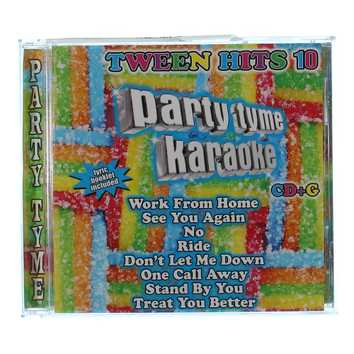 CD: Party Time Karaoke Tween Hits 10 for Sale on Swap.com