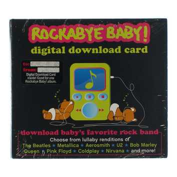 CD: Rockabye Baby! Digital Downlad Card for Sale on Swap.com
