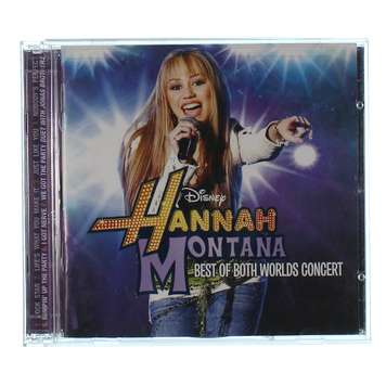 CD Set: Hannah Montana Best of Both Worlds Concert for Sale on Swap.com