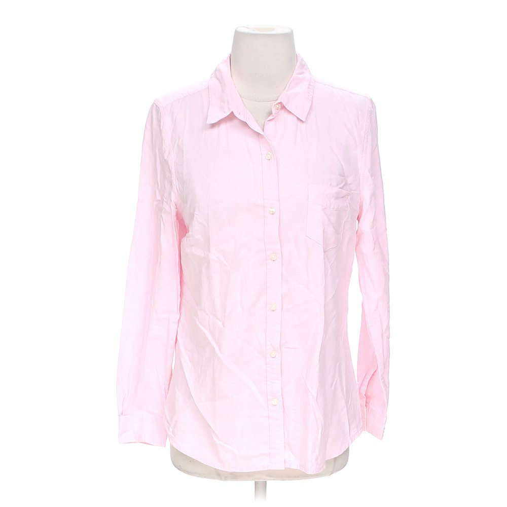 Pink Old Navy Cute Button Up Shirt In Size S At Up To 95