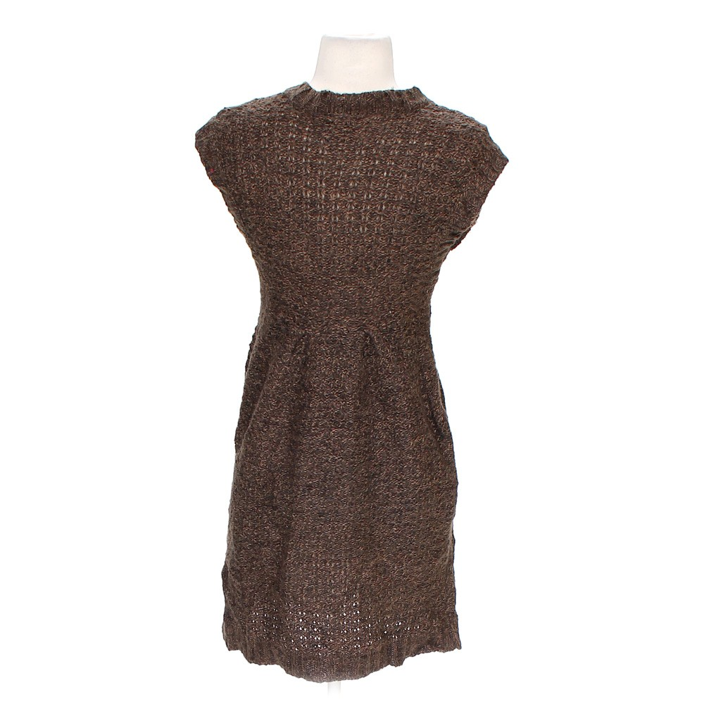 Brown It's Our Time Cute Knit Dress in size S at up to 95% ...