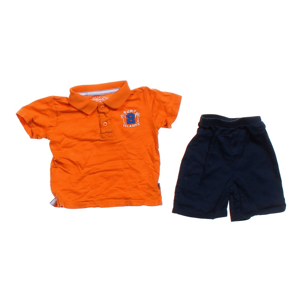 Making waves cute polo shirt shorts in size 18 mo at up for Cute polo shirts for women