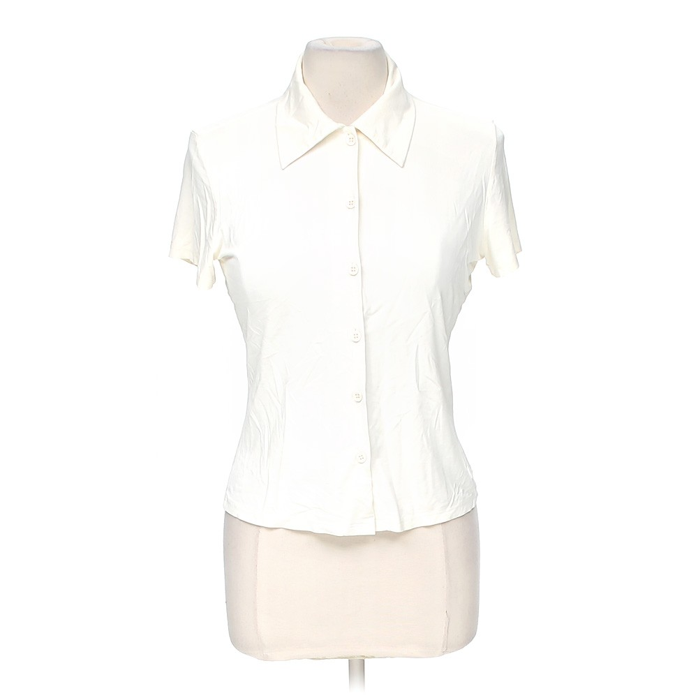 White vol 1 cute shirt in size s at up to 95 off for How to hand wash white shirt