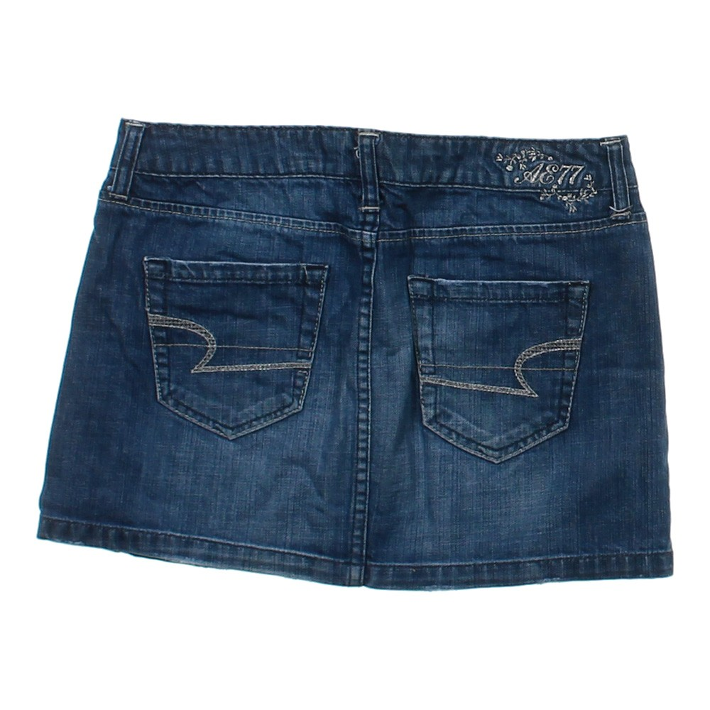 american eagle outfitters denim skirt in size 2 at up to