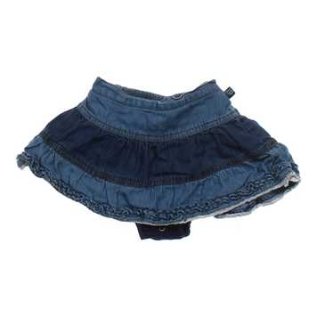 Denim Tiered Skort for Sale on Swap.com