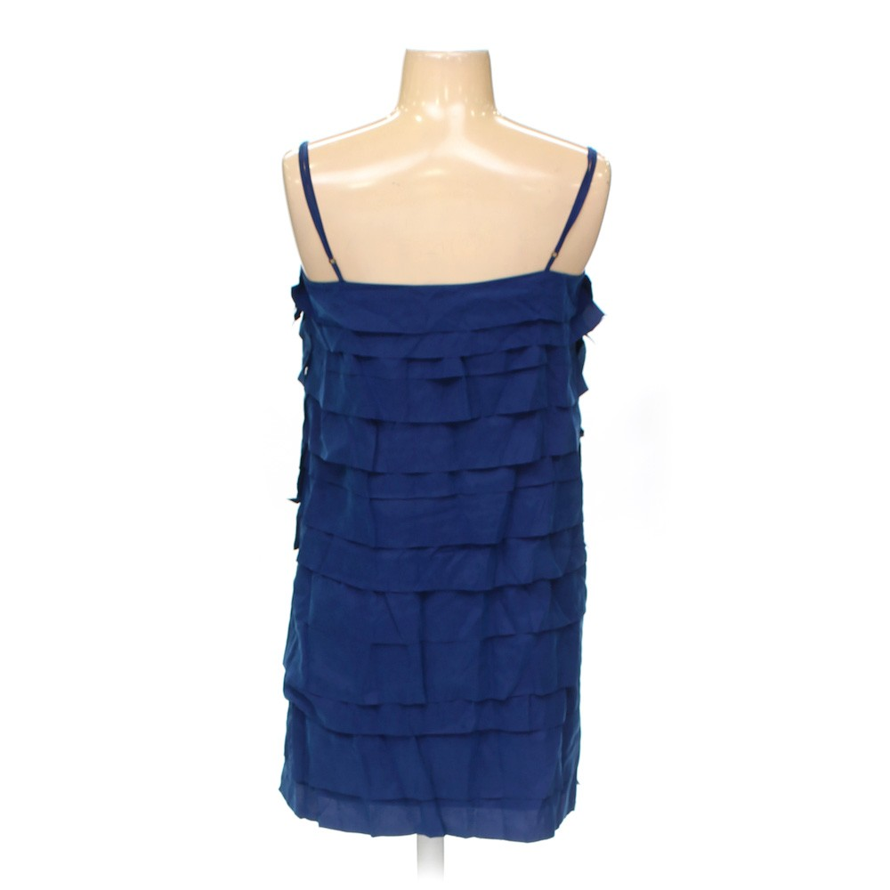 Blue/Navy Ann Taylor Loft Dress in size 2 at up to 95% Off - Swap.com