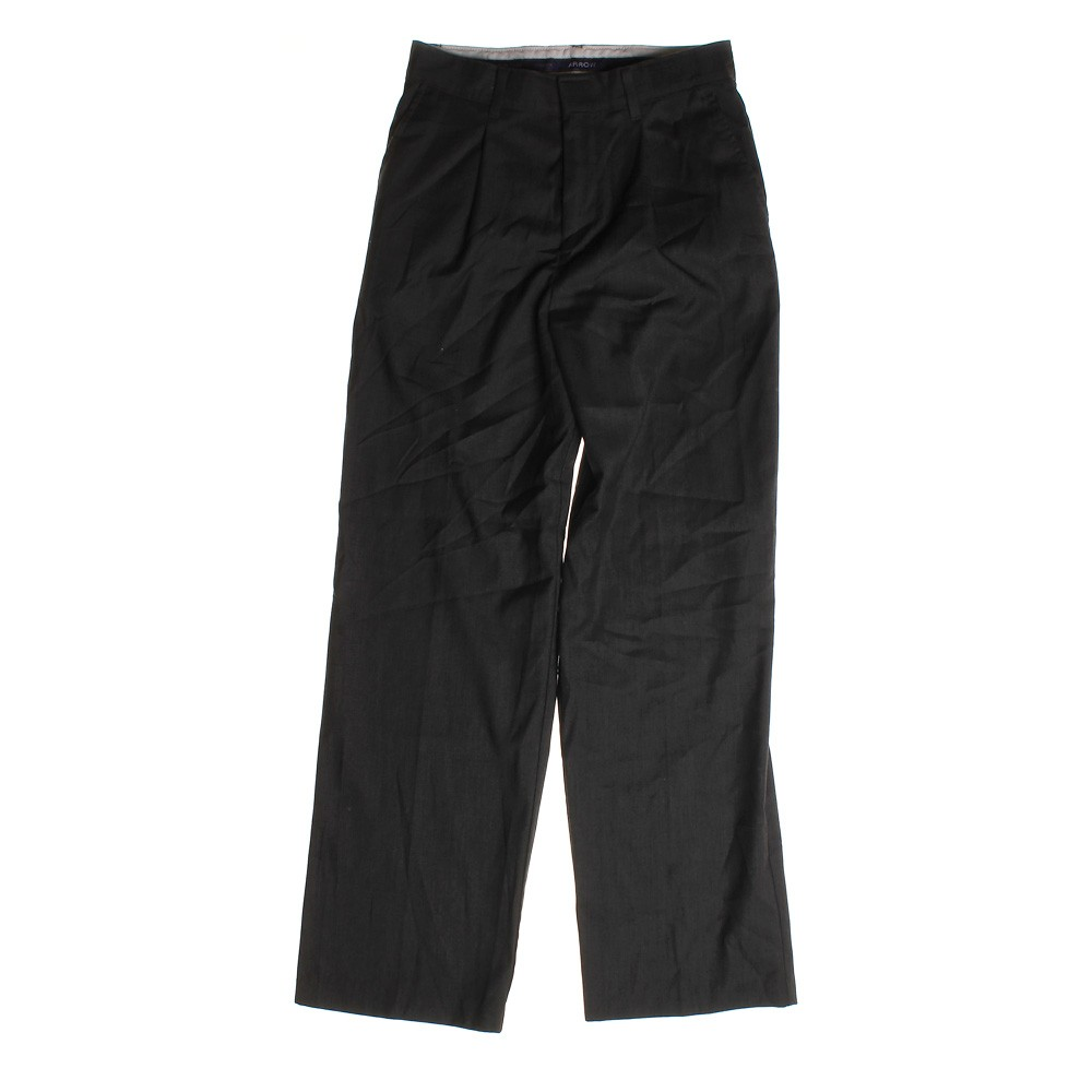 These dress pants are designed for his comfort in a soft, microfiber fabric and expandable waistband. The well-draped pant lends itself to a cuffed hem, polishing the look. Pleated front. Front trouser pockets and rear button through besom pockets. Tab-top waist. % polyester. Machine 0549sahibi.tk release. Moisture management. Imported.