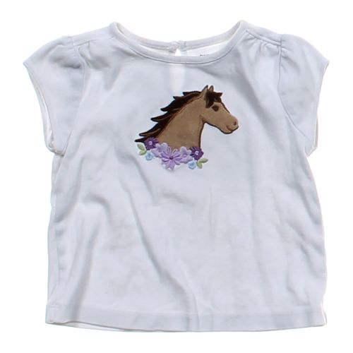 Grey gymboree embroidered horse shirt in size mo at up