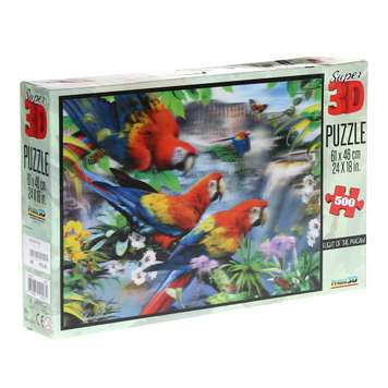 Flight of the Macaw (3-D) Puzzle for Sale on Swap.com