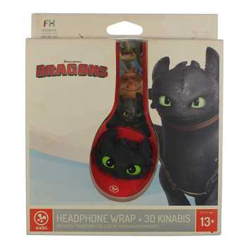 : Fuhu Headphone Wrap and KINABIs, How to Train Your Dragon for Sale on Swap.com