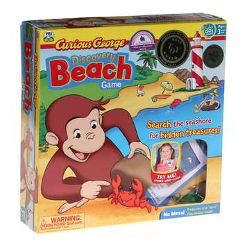 Game: Curious George dicovery Beach Game for Sale on Swap.com