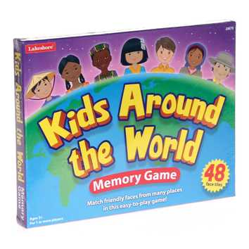 Game: Kids Around The World Memory Game for Sale on Swap.com