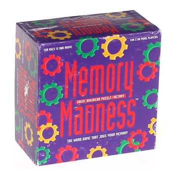 Game: Memory Madness for Sale on Swap.com