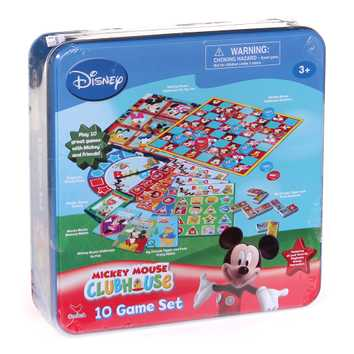 Game: Mickey Mouse Clubhouse 10 Game Set for Sale on Swap.com