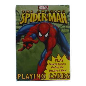 Game: Playing Cards featuring The Amazing Spider-Man for Sale on Swap.com