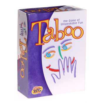 Game Taboo the Game Unspeakable fun for Sale on Swap.com
