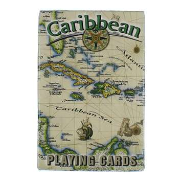 Game: The Caribbean Map Playing Cards for Sale on Swap.com