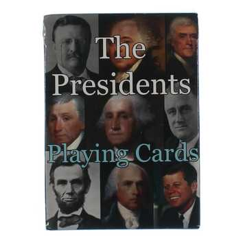 Game: The Presidents Playing Cards for Sale on Swap.com