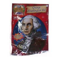 Colonial Heroes In History George Washington Wig Amp Collar