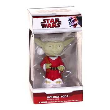 Holiday Yoda Bobble-Head for Sale on Swap.com