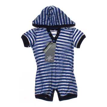 Hooded Striped Romper for Sale on Swap.com
